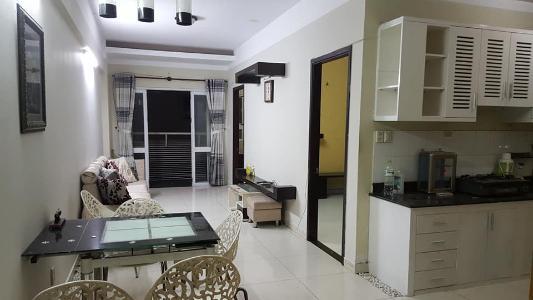 Bán căn hộ chung cư Khang Gia 2PN, tầng thấp, đầy đủ nội thất, view sân bay Tân Sơn Nhất