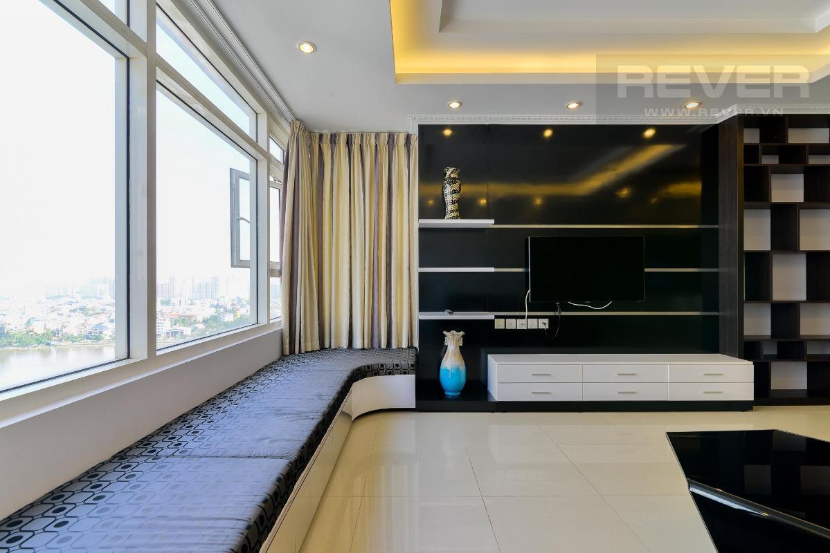 Pk5 Bán hoặc cho thuê căn hộ Saigon Pearl 3PN, tháp Ruby 1, đầy đủ nội thất, view sông và nội khu