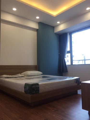 phòng ngủ Cho thuê căn hộ Saigon South Residence tầng thấp, diện tích 100.35m, chưa có nội thất