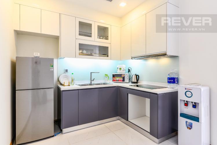 Nhà Bếp Căn hộ Vinhomes Central Park tầng cao P6 thiết kế 1 phòng ngủ thông thoáng