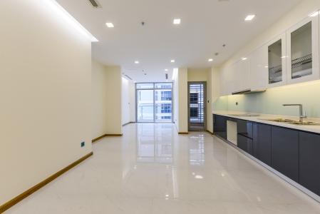 Căn hộ Vinhomes Central Park 2 phòng ngủ tầng cao P4 nội thất cơ bản