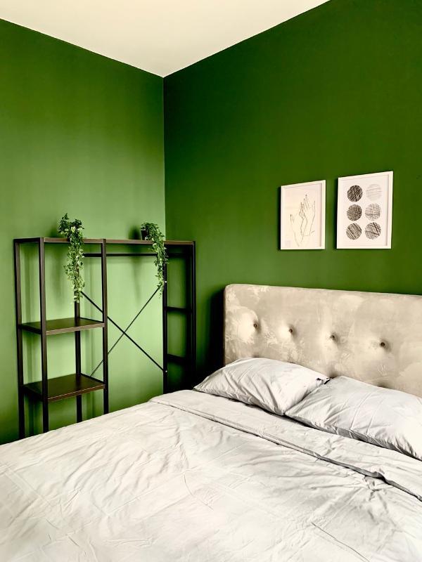 phòng ngủ Cho thuê căn hộ Masteri An Phú 2 phòng ngủ, tháp A, đầy đủ nội thất cao cấp