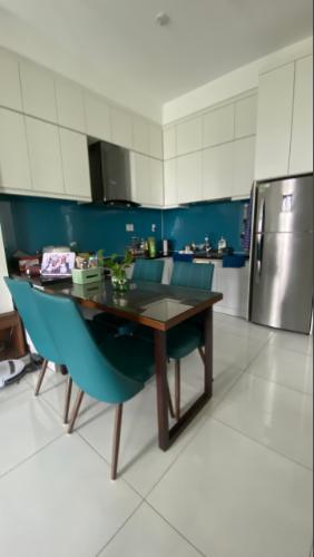 Phòng bếp Jamila Khang Điền, Quận 9 Căn hộ Jamila Khang Điền tầng thấp, ban công hướng Bắc view thành phố.