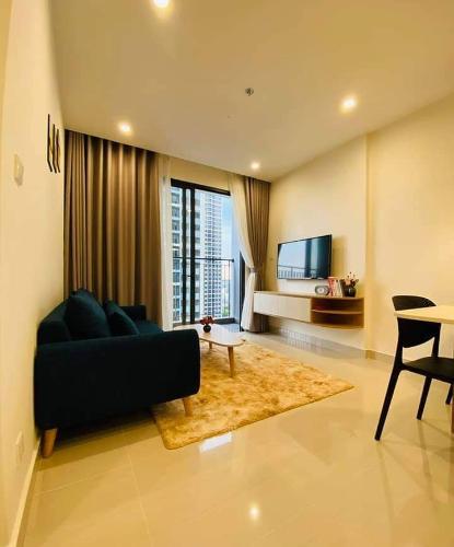 Phòng khách căn hộ Vinhomes Grand Park Căn hộ Vinhomes Grand Park tầng cao, view sông thoáng mát