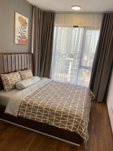 Phòng ngủ One Verandah Quận 2 Căn hộ One Verahdah view thành phố, nội thất tiện nghi.
