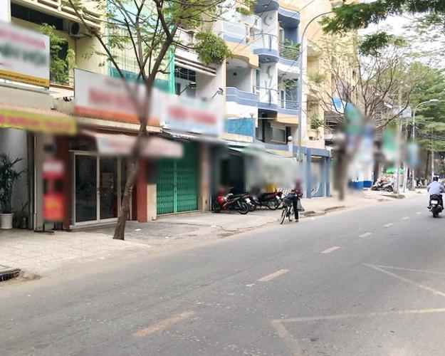 Đường Vĩnh Hội, Quận 4 Nhà phố hướng Nam mặt tiền đường, khu dân cư sầm uất.