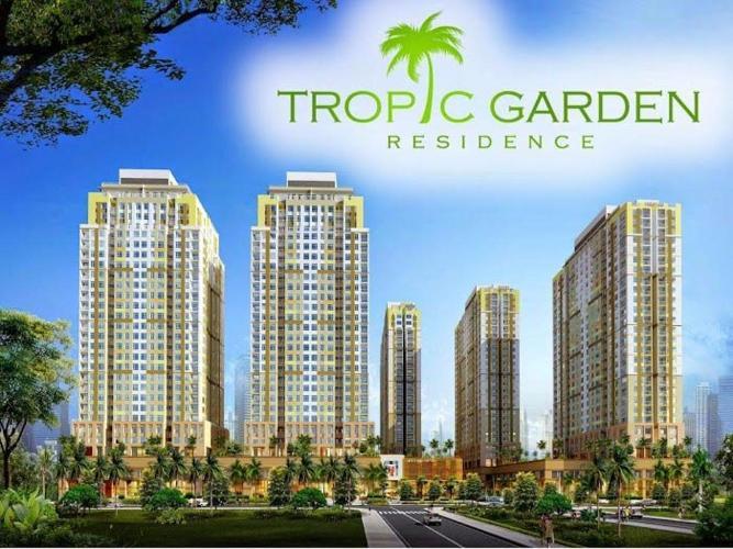 Tropic Garden, Quận 2 Căn hộ Tropic Garden tầng trung, ban công hướng Tây Bắc.