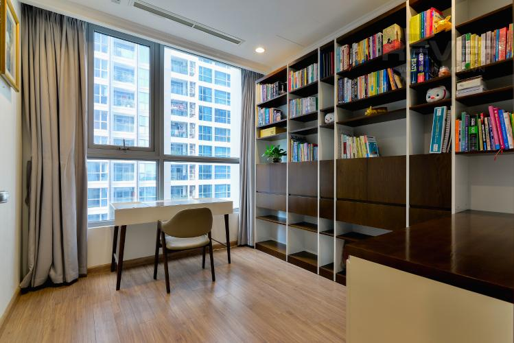 Phòng Làm Việc Bán căn hộ Vinhomes Central Park 4PN, tháp The Central 2, đầy đủ nội thất, view sông trực diện