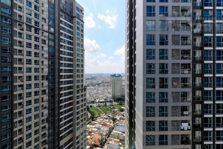 View Cho thuê căn hộ Vinhomes Central Park 3PN, tháp Park 1, đầy đủ nội thất, hướng Tây Bắc