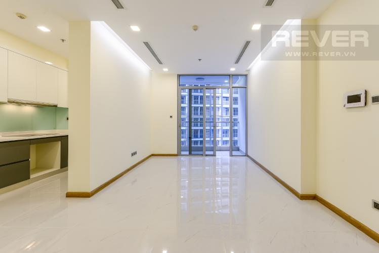 Phòng khách Căn hộ Vinhomes Central Park 2 phòng ngủ Park 2 nội thất cơ bản