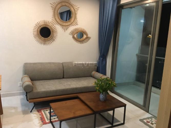 Phòng khách An Gia Skyline Căn hộ tầng cao An Gia Skyline nội thất đầy đủ, view sông.