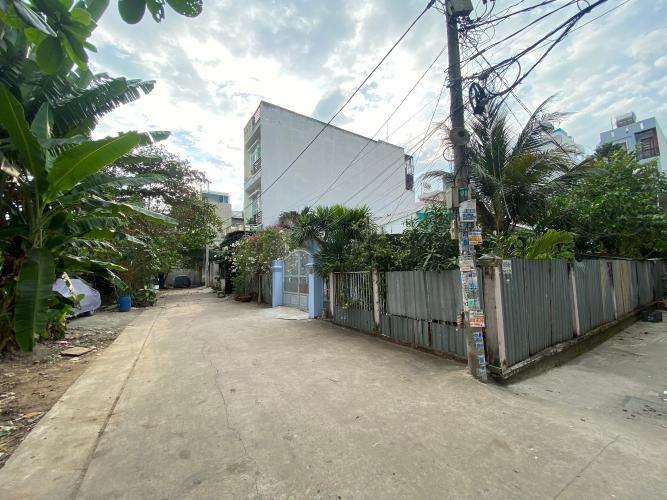 Đường nhà phố Bình Tân Nhà phố hướng Đông Nam diện tích đất 64m2, gần Aeon Mall.