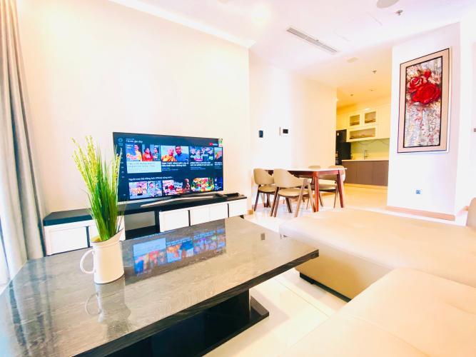 Cho thuê căn hộ Vinhomes Central Park 2PN, tháp Park 6, đầy đủ nội thất, view nội khu