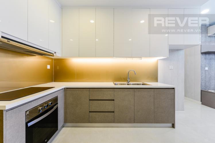 Bếp Cho thuê căn hộ Masteri Millennium tầng cao 2PN view sông