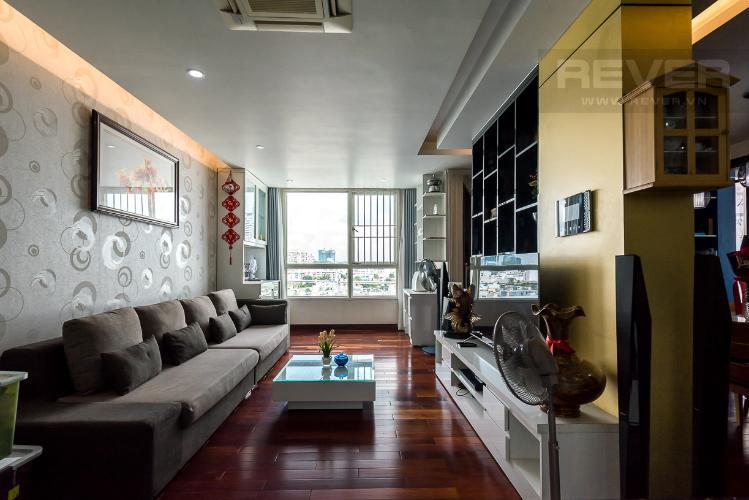 Phòng khách căn hộ THE MANOR Căn hộ The Manor 3 phòng ngủ, tầng thấp, đầy đủ nội thất