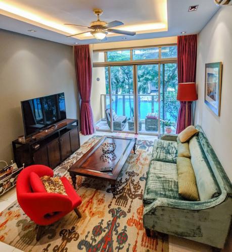 Cho thuê căn hộ The Vista An Phú 2PN, tháp T4, diện tích 108m2, đầy đủ nội thất, hướng view Đông Nam