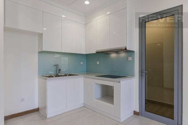 Nhà Bếp Căn hộ Vinhomes Central Park 2 phòng ngủ tầng trung L2 view nội khu