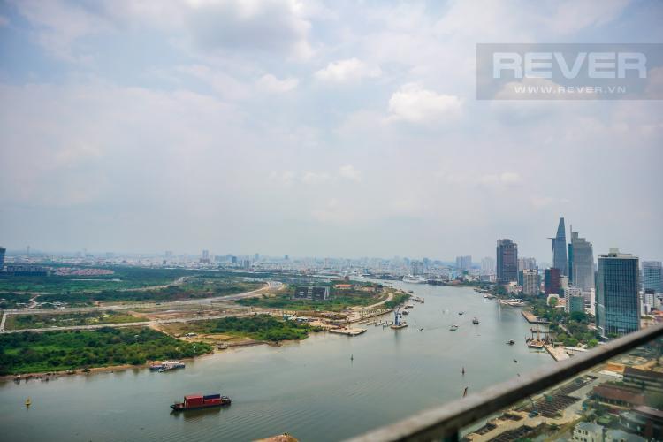 View Cho thuê căn hộ Vinhomes Golden River tầng cao, đầy đủ nội thất, view Sài Gòn và Bitexco
