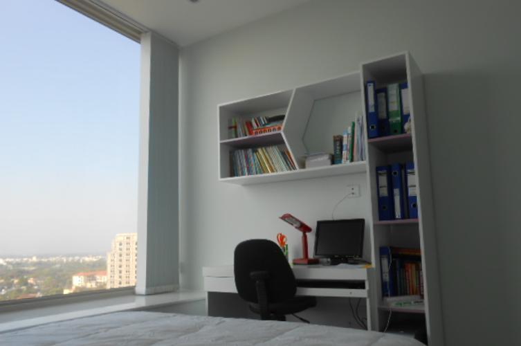 Phòng ngủ La Casa, Quận 7 Căn hộ La Casa tầng trung, ban công hướng Nam view thành phố.