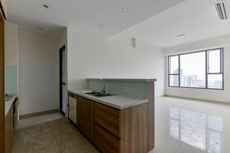 Cho thuê căn hộ Rivergate Residence 2PN, tháp B, tầng cao, nội thất cơ bản, hướng Đông Bắc, view thoáng