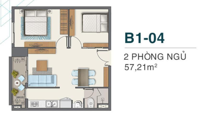 Căn hộ Q7 Boulevard nội thất cơ bản, tiện ích cao cấp.