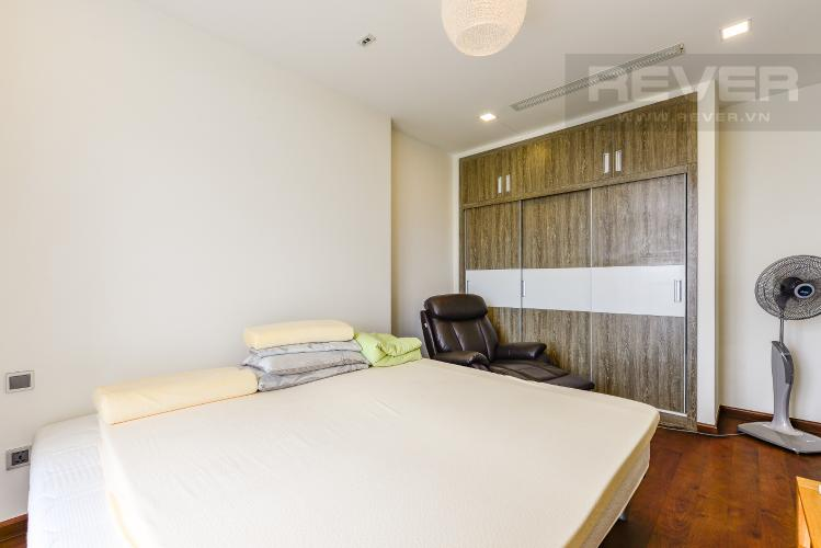 Phòng ngủ 4 Căn hộ Vinhomes Central Park 4 phòng ngủ tầng trung P3 view trực diện sông
