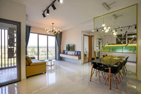 Cho thuê căn hộ Palm Heights 2PN, tầng thấp, đầy đủ nội thất, hướng ban công Đông Bắc