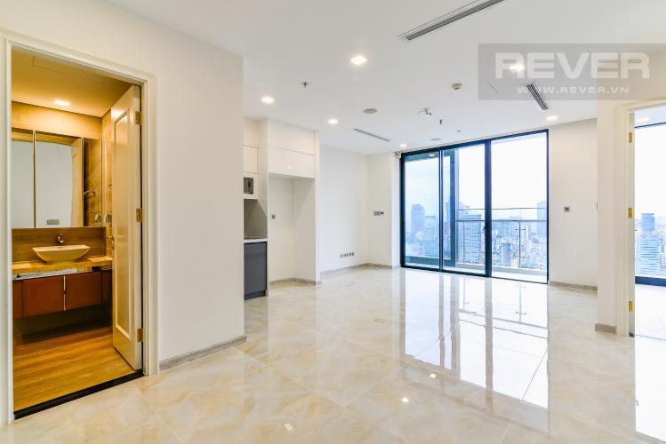Phòng Khách Căn hộ Vinhomes Golden River tầng cao, 2PN, tiện ích đa dạng