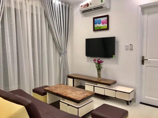 Phòng khách căn hộ FLORITA Q7 Bán căn hộ Florita 2 phòng ngủ, tầng 16, diện tích 58m2, đầy đủ nội thất