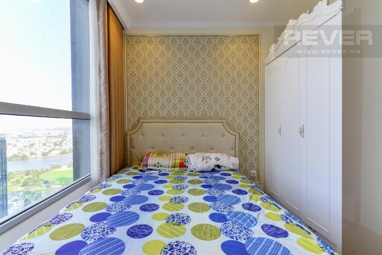 Phòng Ngủ 2 Cho thuê căn hộ Vinhomes Central Park 83.8m2, view sông thoáng mát, nội thất hạng sang