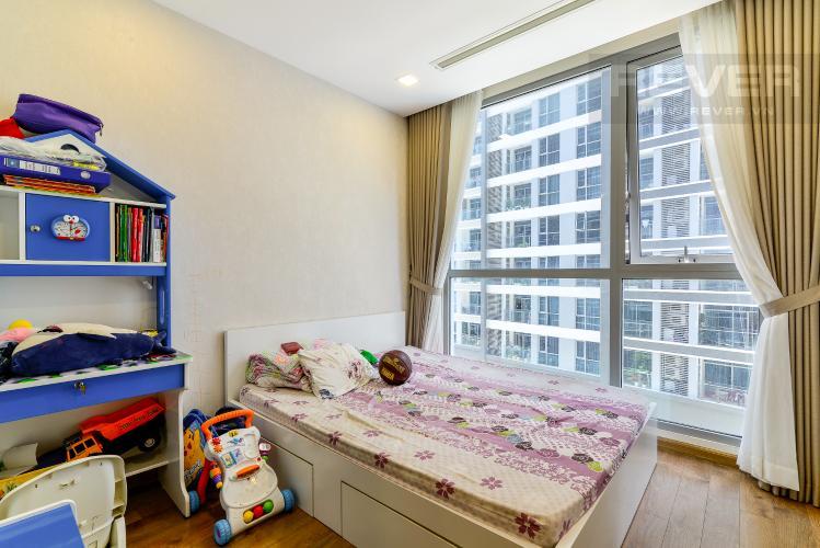 Phòng Ngủ 2 Bán căn hộ Vinhomes Central Park 2PN, tháp Park 4, đầy đủ nội thất, view hồ bơi nội khu