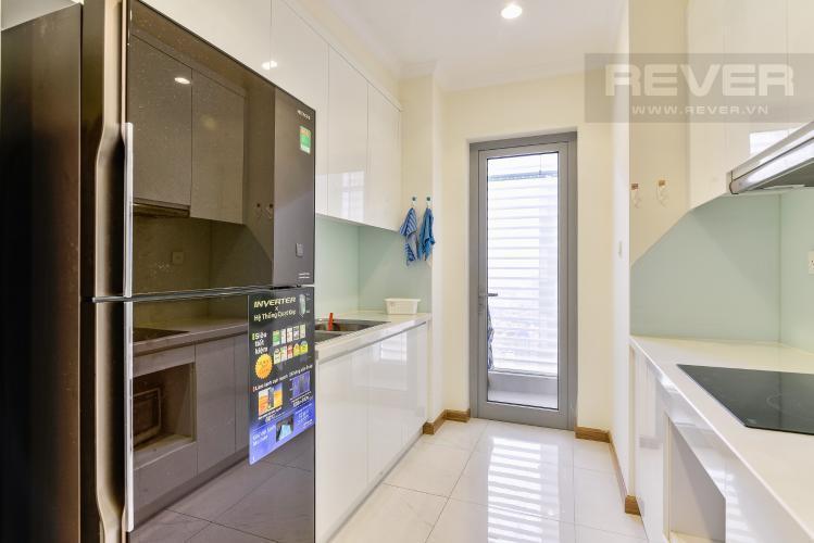 Nhà Bếp Cho thuê căn hộ Vinhomes Central Park tầng cao, 2PN đầy đủ nội thất, view nội khu