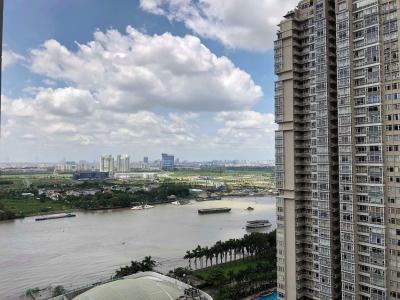 Cho thuê căn hộ Vinhomes Central Park tầng cao, tháp Central 2, diện tích 51.5m2 rộng rãi