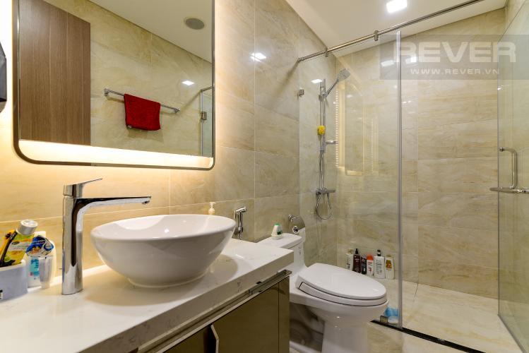 Phòng Tắm Cho thuê căn hộ Vinhomes Central Park 1PN, tầng thấp, tháp Landmark 81, đầy đủ nội thất