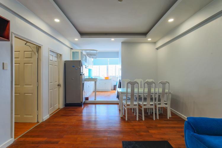 Bán căn hộ Chung Cư H3 Hoàng Diệu tầng cao, 3PN, nội thất đầy đủ