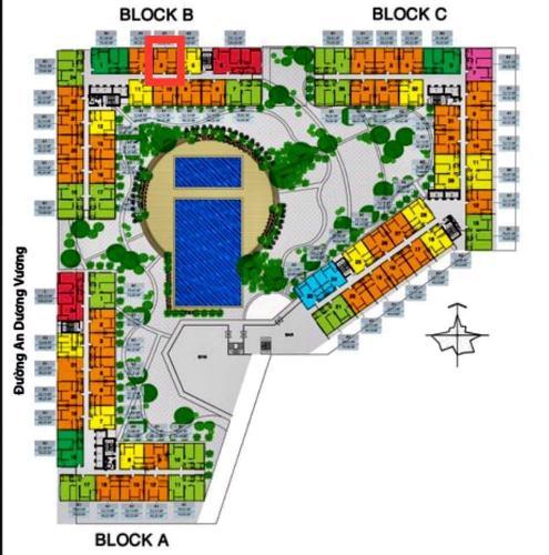 layout tổng quan căn hộ City Gate 3 Căn hộ City Gate 3 nội thất cơ bản 1 phòng ngủ view thành phố  .