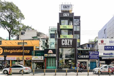 Nhà phố 5 phòng ngủ Nguyễn Thị Minh Khai Quận 1