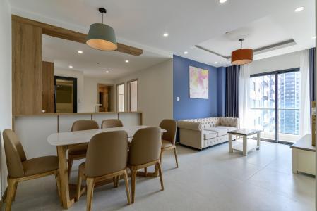 Cho thuê căn hộ New City Thủ Thiêm 85m2 gồm: 3PN 2WC, hướng Đông Bắc, view nội khu