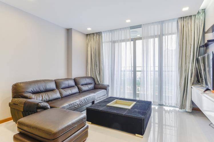 Căn hộ Vinhomes Central Park 2 phòng ngủ tầng thấp P7 nội thất đầy đủ