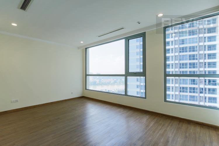 Phòng Ngủ 1 Căn góc Vinhomes Central Park trung tầng L1 view trực diện sông