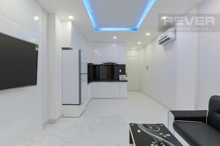 Phòng Khách Căn hộ dịch vụ đường Trần Quang Diệu Quận 3 diện tích 50m2