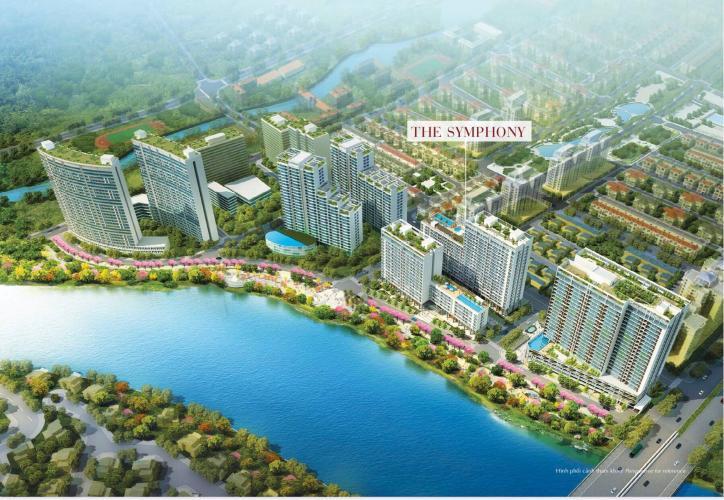 Phối cảnh Khu căn hộ PHÚ MỸ HƯNG MIDTOWN Bán căn hộ Phú Mỹ Hưng Midtown 3PN, tầng 11, ban công Đông Nam
