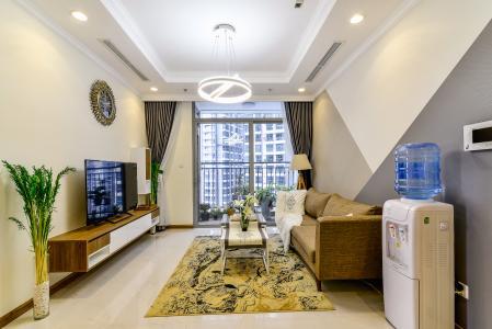 Căn hộ Vinhomes Central Park 3 phòng ngủ tầng cao L2 view nội khu