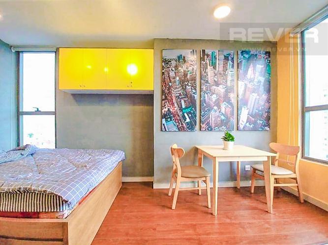Phòng Ngủ 1 Cho thuê căn hộ RiverGate Residence 1PN, tầng thấp, tháp B, đầy đủ nội thất, view sông Sài Gòn