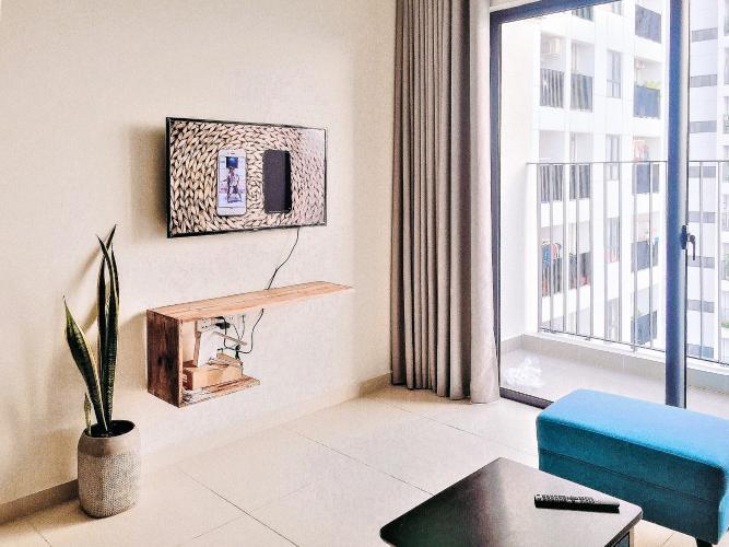 Cho thuê căn hộ M-One Nam Sài Gòn 2PN, tầng trung, đầy đủ nội thất, view hồ bơi nội khu