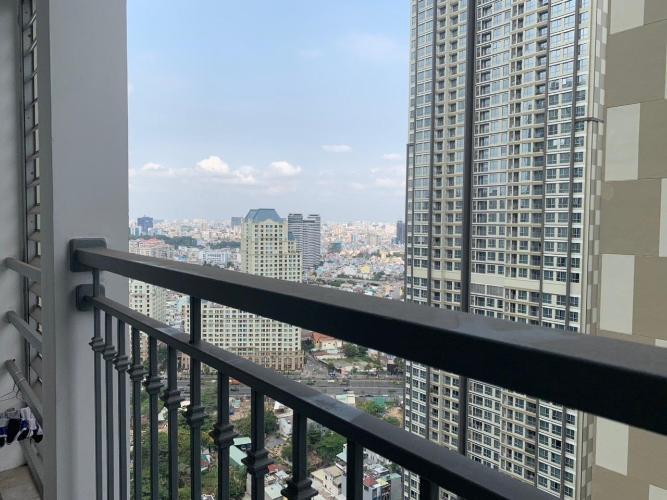 View căn hộ Vinhomes Central Park Cho thuê căn hộ Vinhomes Central Park 2PN, tháp Landmark 2, đầy đủ nội thất, view thành phố
