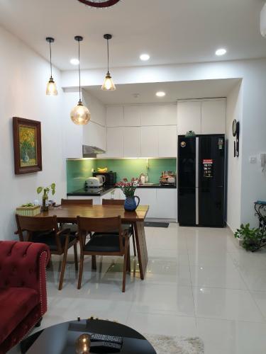 nội thất căn hộ 2 phòng ngủ the sun avenue Căn hộ The Sun Avenue tầng cao, bàn giao đầy đủ nội thất.