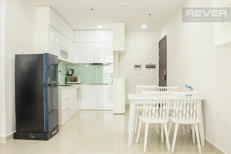 Phòng Bếp Cho thuê căn hộ The Tresor 1PN, tầng cao, đầy đủ nội thất, view sông Bến Nghé