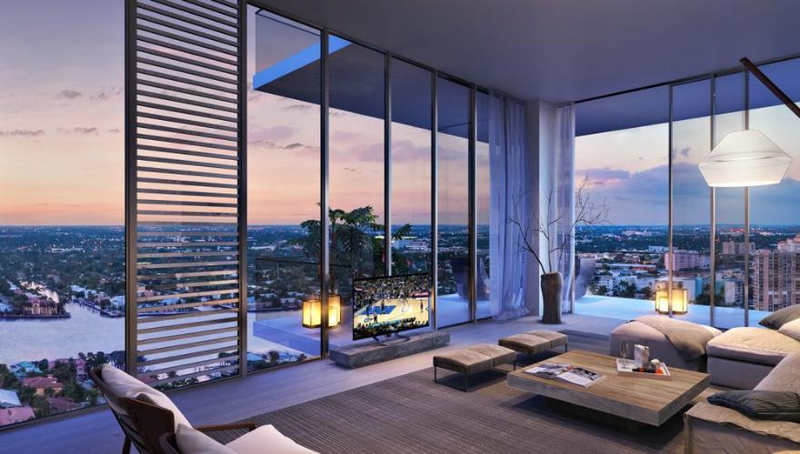 Nhà mẫu căn hộ Q2 THAO DIEN, quận 2 Căn hộ Q2 THAO DIEN view sông, nội thất cơ bản