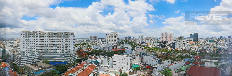 View Căn hộ RiverGate Residence 1 phòng ngủ tầng trung tháp B nội thất đơn giản